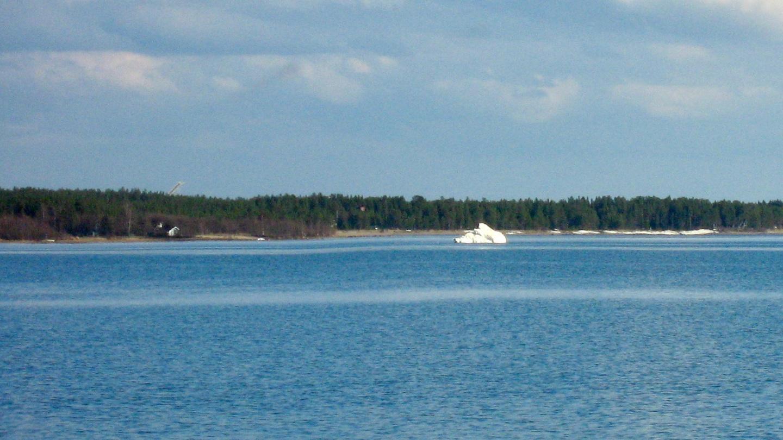 Jäävuori Haukiputaalla 20.5.2009