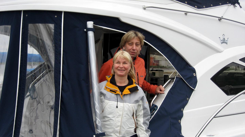 Suwena lähdössä 2009 kesämatkalle