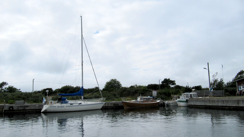 Our home pontoon neighbour Serafia in Kylmäpihlaja marina