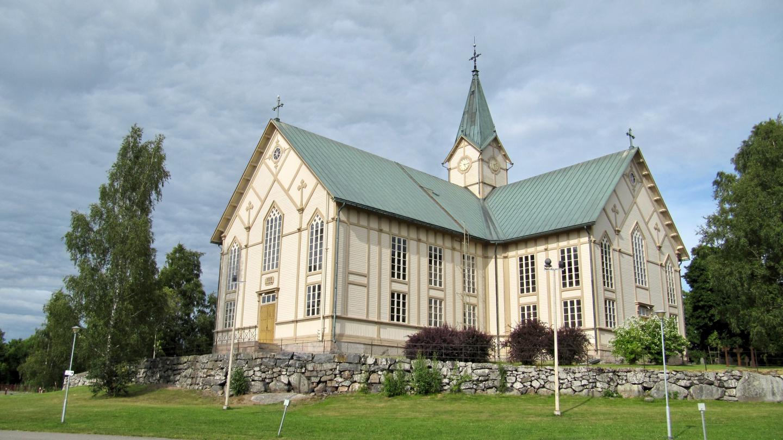 Wooden church of Merikarvia