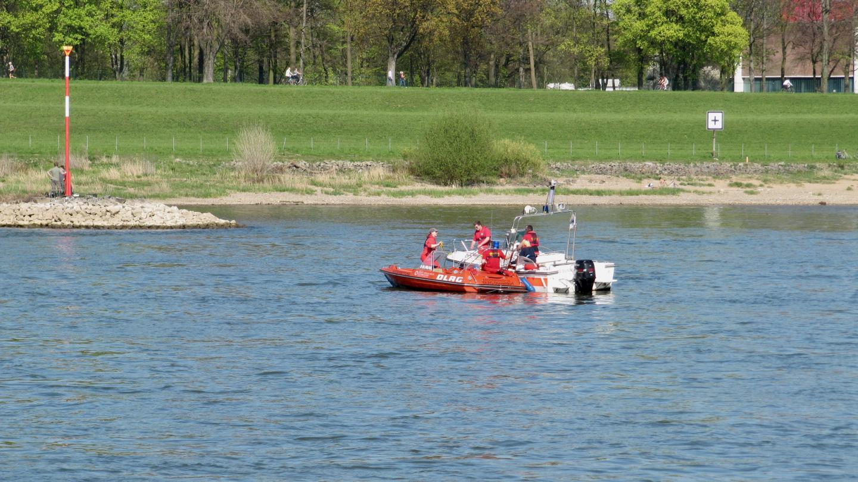 Sea rescue of river Rhine