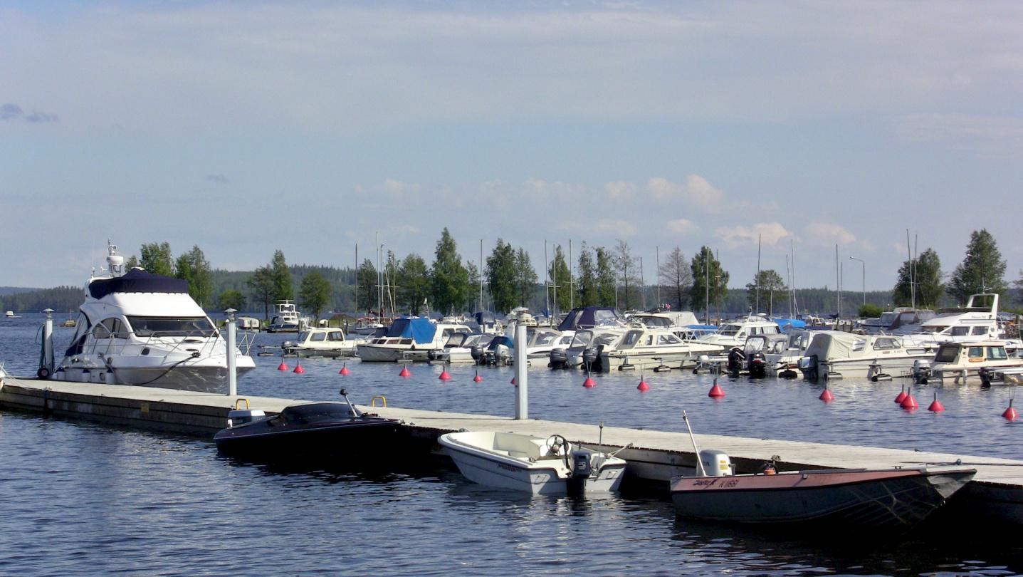 Suwena in Maljalahti marina of Kuopio