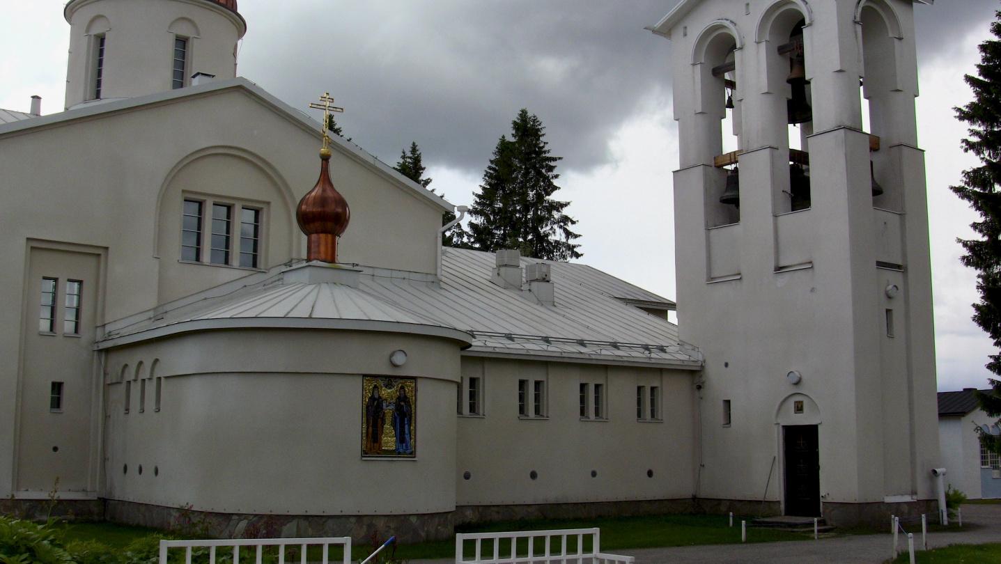 Valamon luostarin uusi kirkko