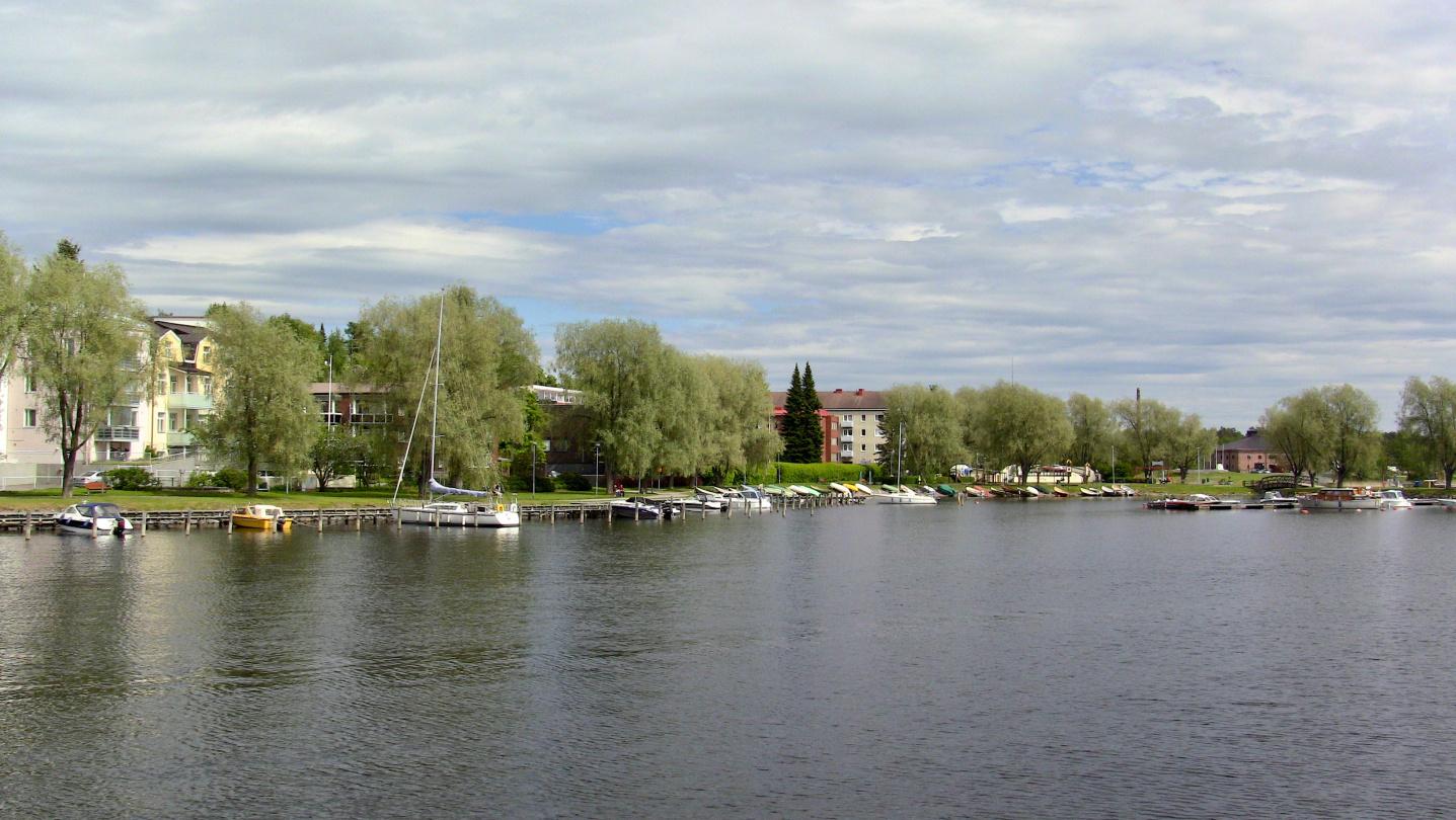 Waterfront of Savonlinna
