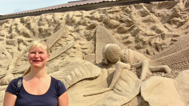 Eve Lappeenrannan hiekkalinnassa