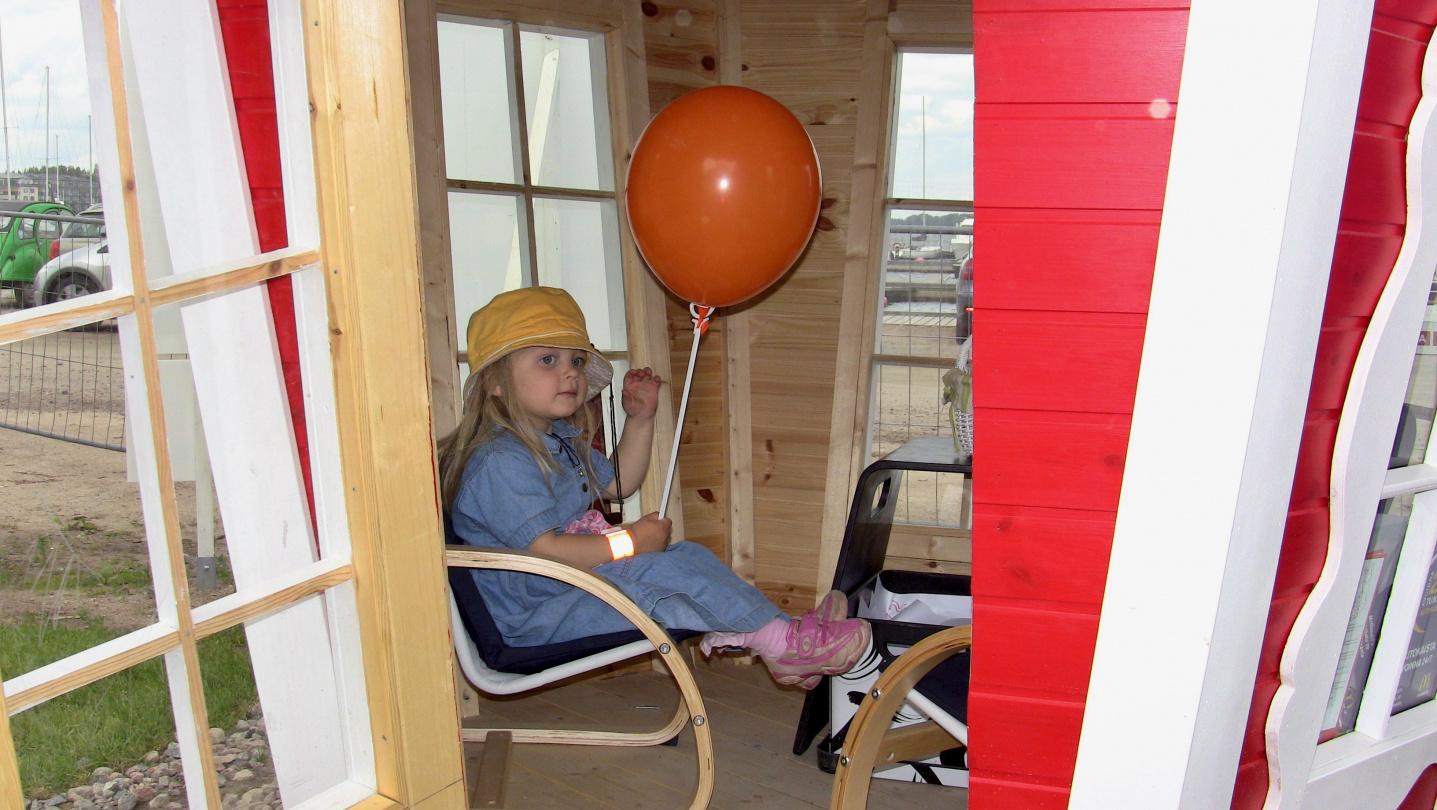 Playground in Williranta in Lappeenranta