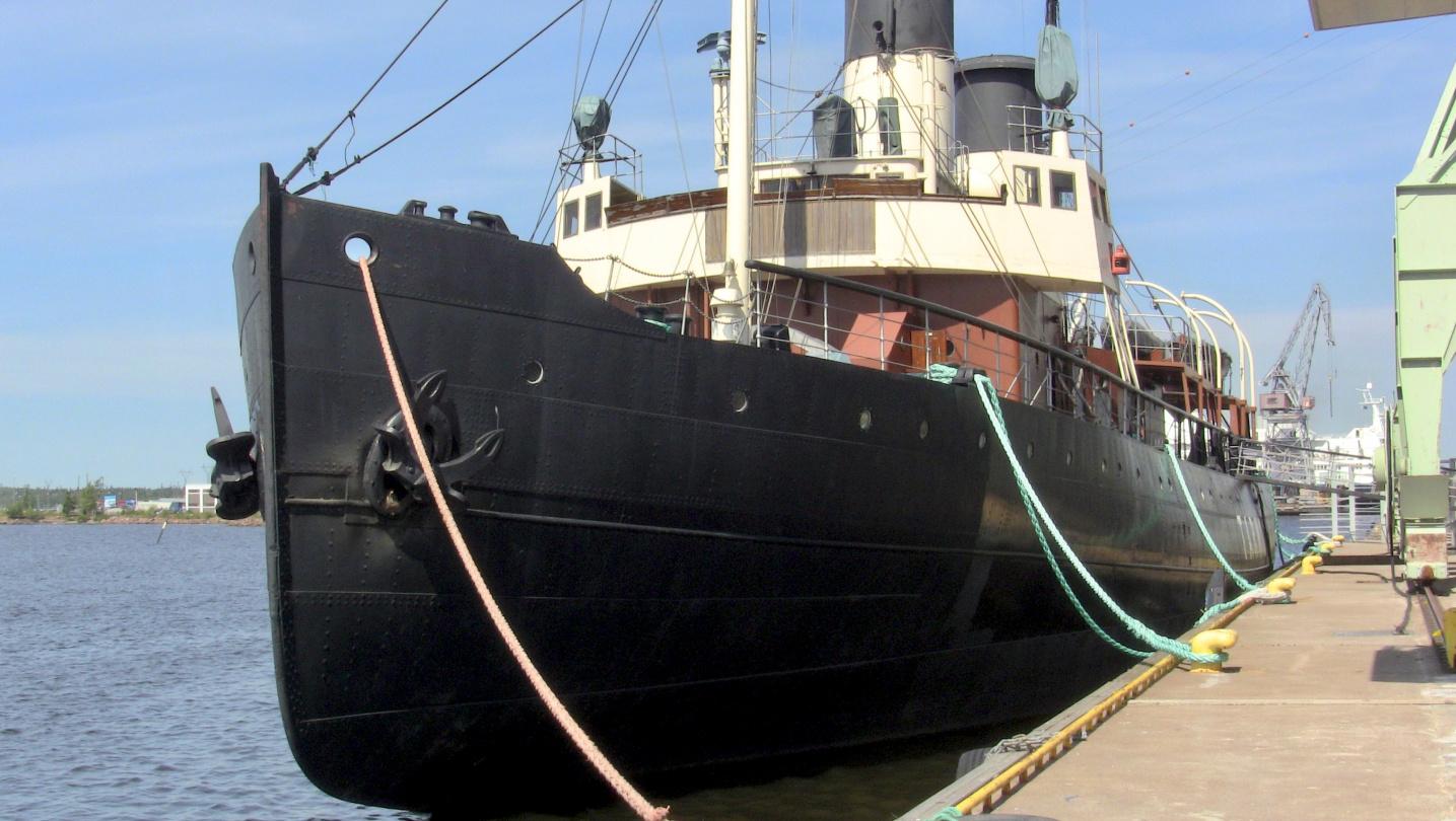 Icebreaker Tarmo in Kotka