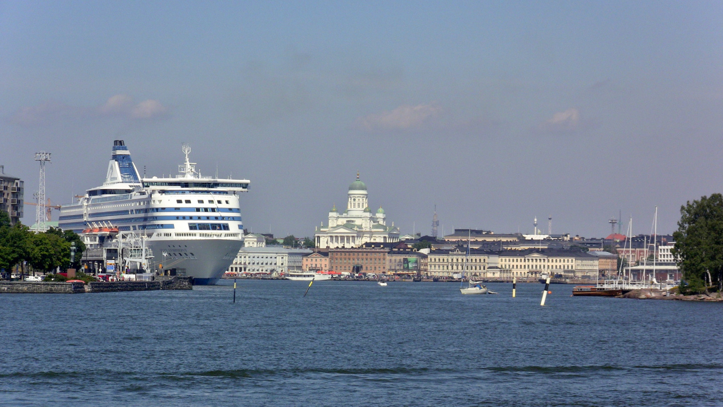 Silja Line in Helsinki