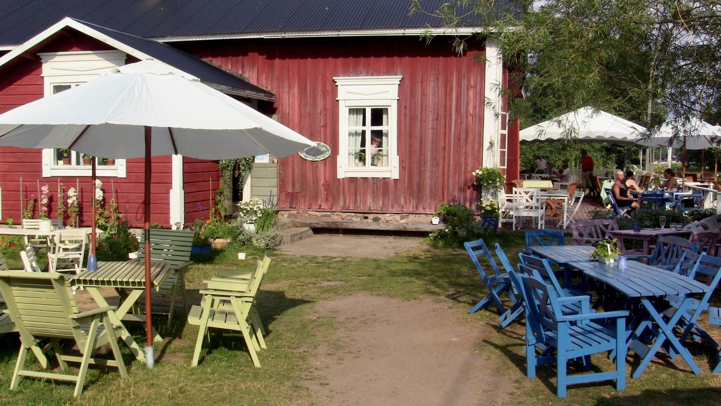 Farmors Cafe in Högså