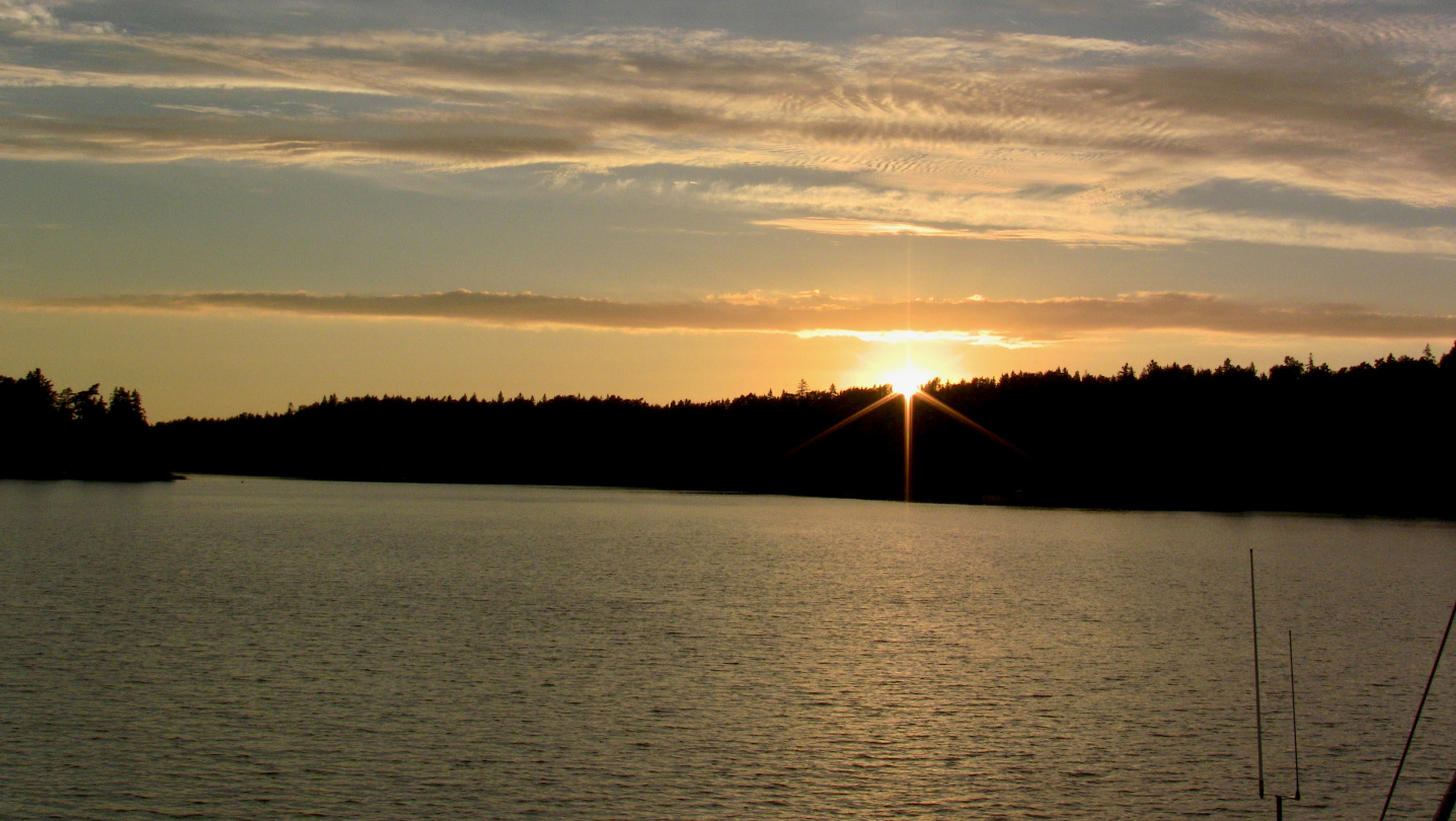 Sunset in Houtskari