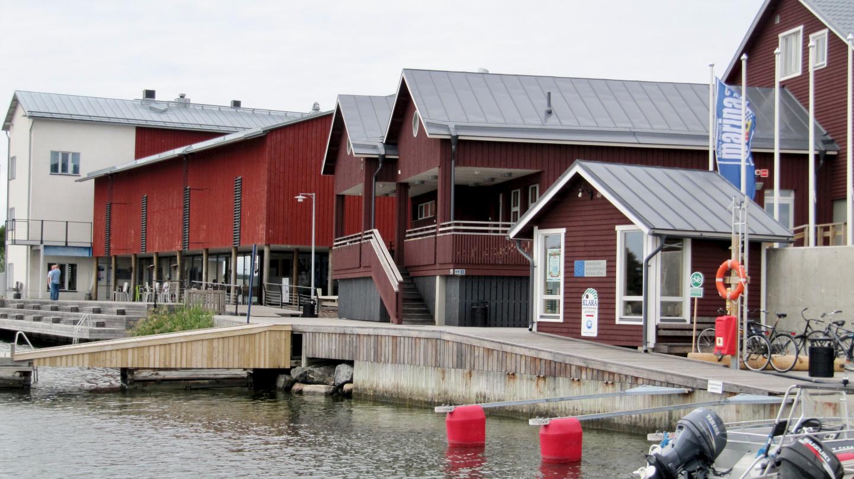 Brand new marina building of Korpoström