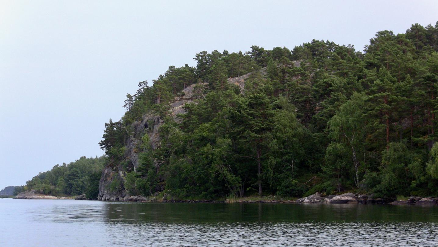 Pähkinäisen kallioita