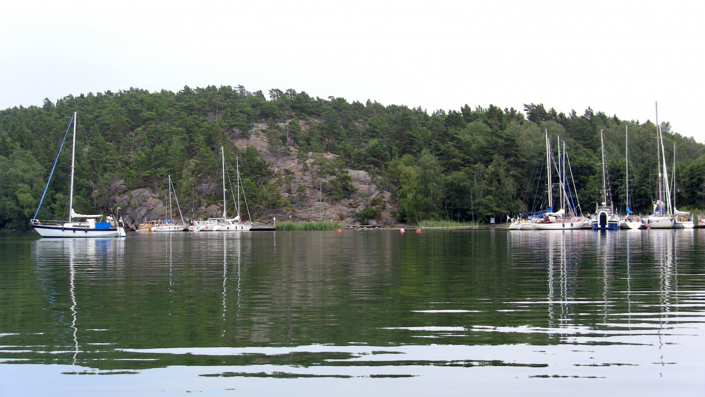 The marina of Pähkinäinen
