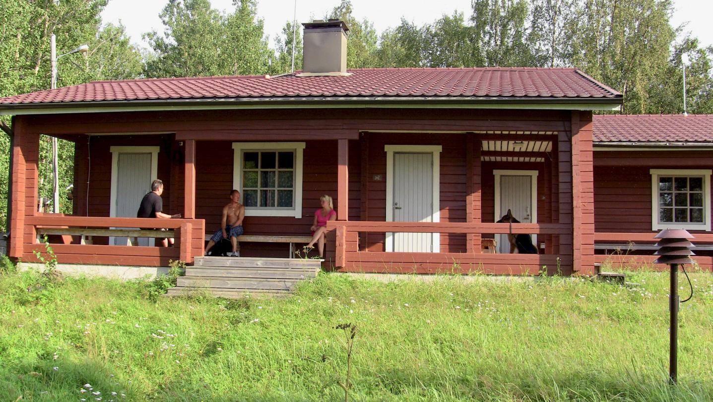 Saunojia riitti Oulun Merenkävijöiden majalla