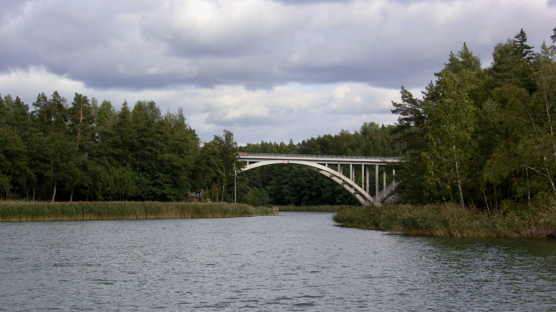 Sattmarkin silta matkalla Paraisiin