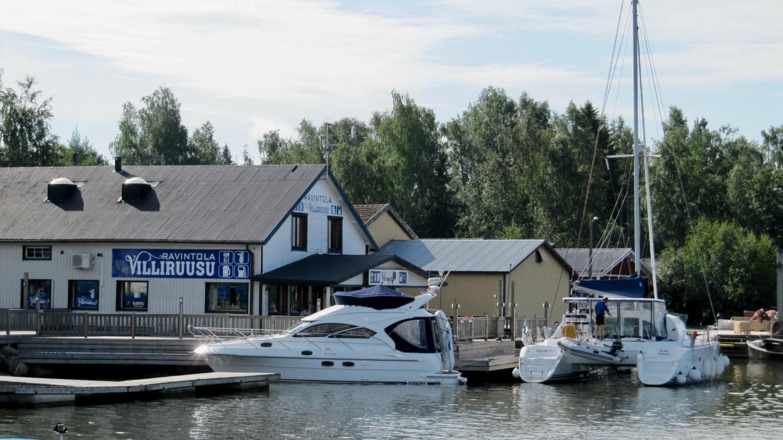 Catamaran Kaljuska in Merikarvia