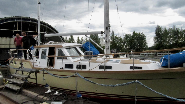 Nauticat 441 testialtaalla