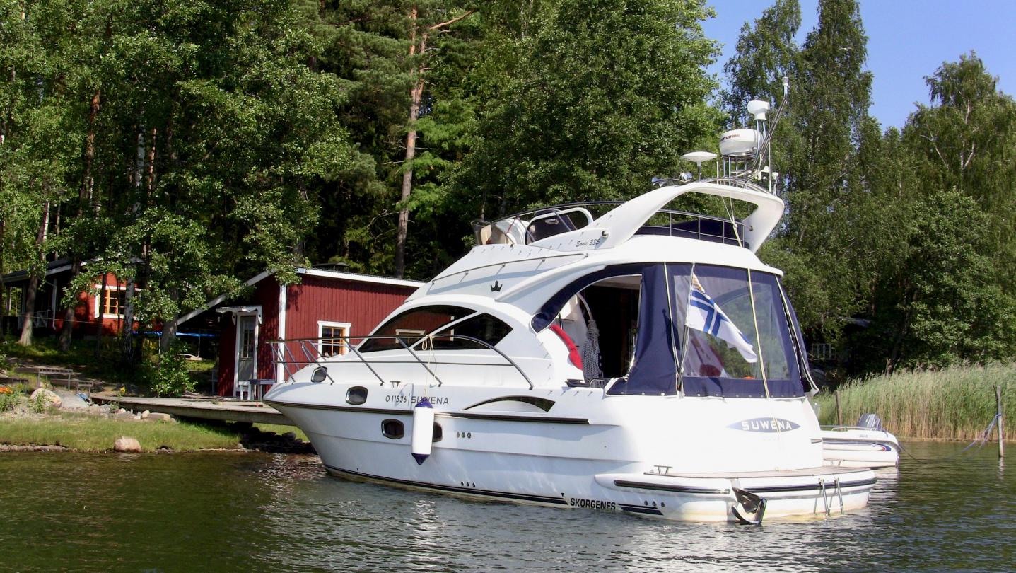 Suwena mökkivierailulla Saaristomerellä