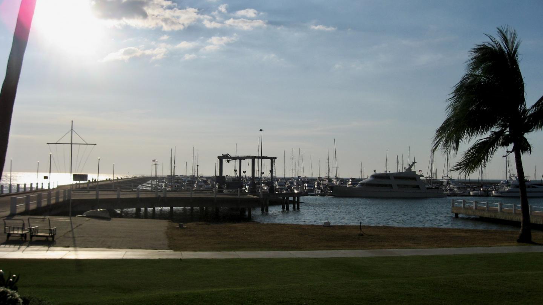 Ocean Marina Yacht Club venekerhon satama Pattayalla Thaimaassa