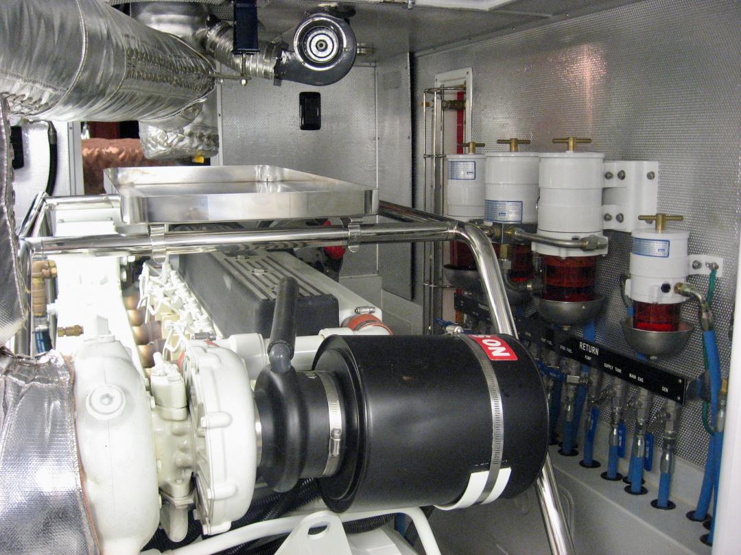 Nordhavn 43 fuel system