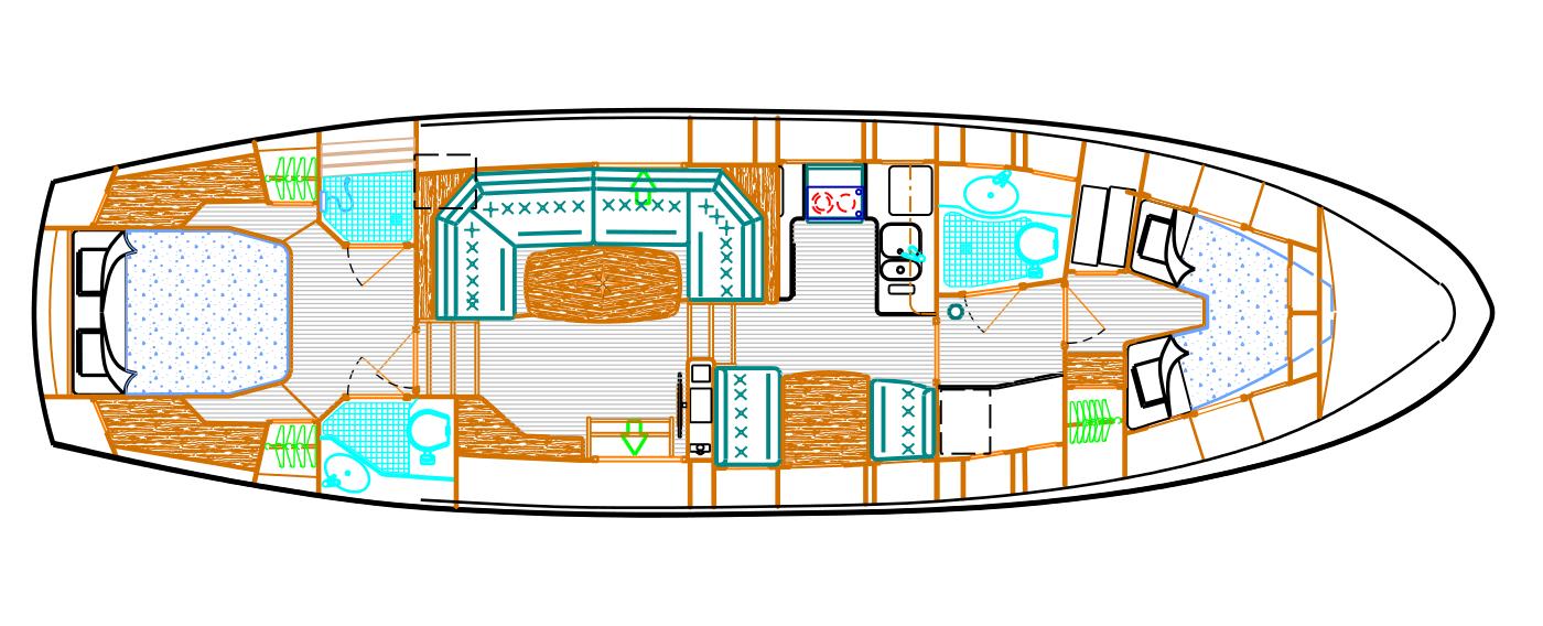 The layout of Suwena