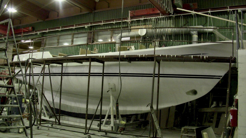Nauticat 441 hull