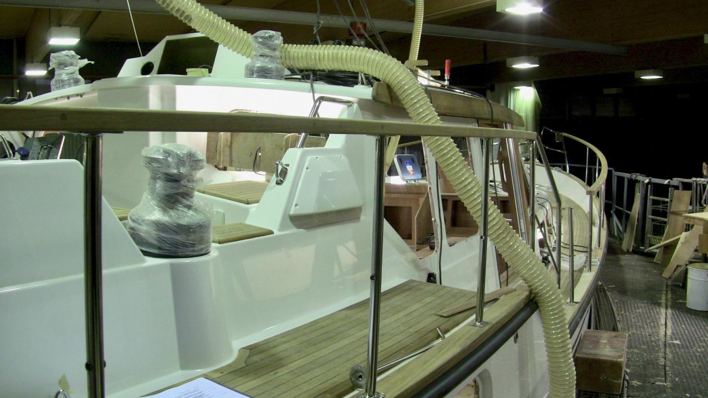 Nauticat 441 railings