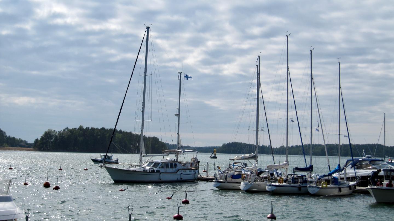 Suwena in Verkan marina
