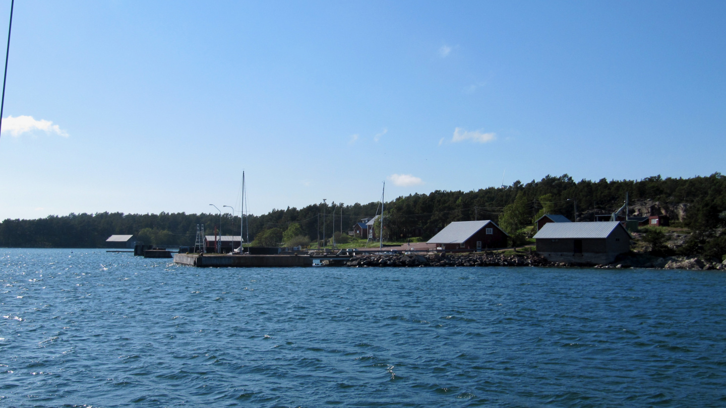 Sottunga harbour in Åland