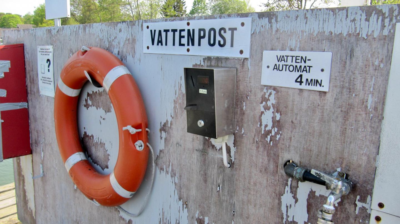 Vesiposti Degerbyssä