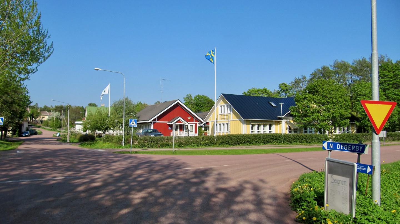 Degerby:n keskusta