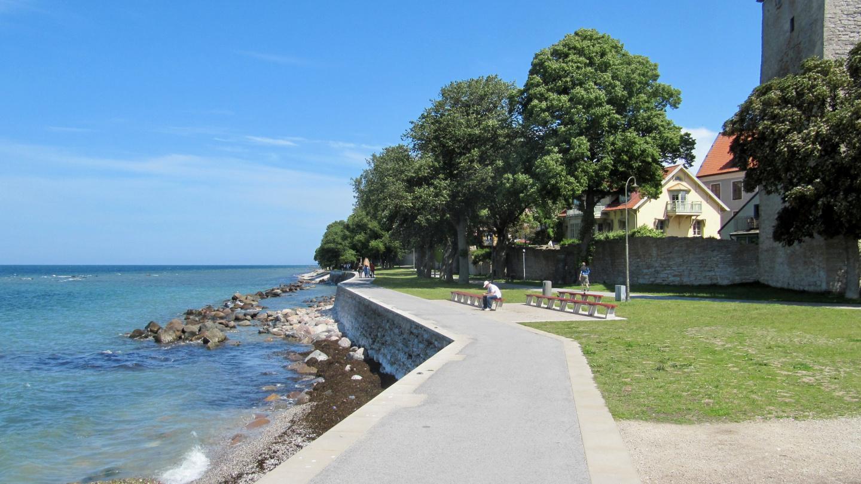 Beach park in Visby