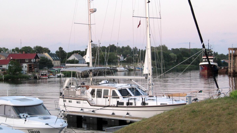Suwena in Pavilosta marina
