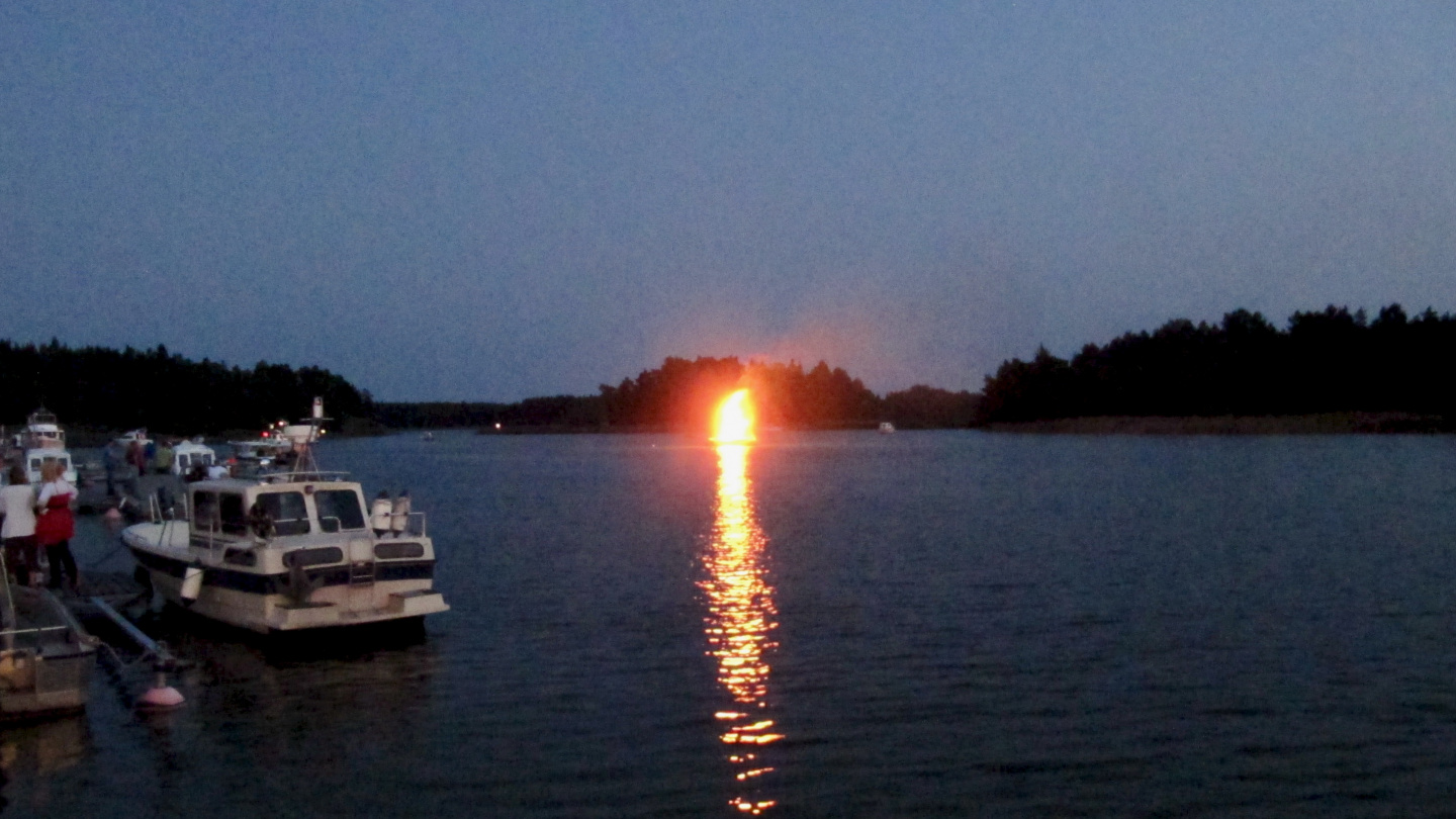Night of the Ancient Fires in Sommaröstrand