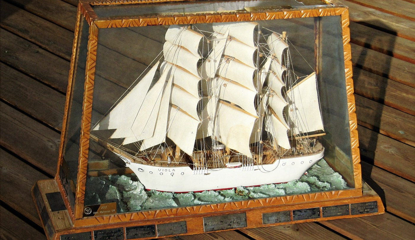 The Voyage Frigate circulating trophy of Suwena