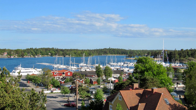 Nynäshamnin venesatama ja rautatieasema
