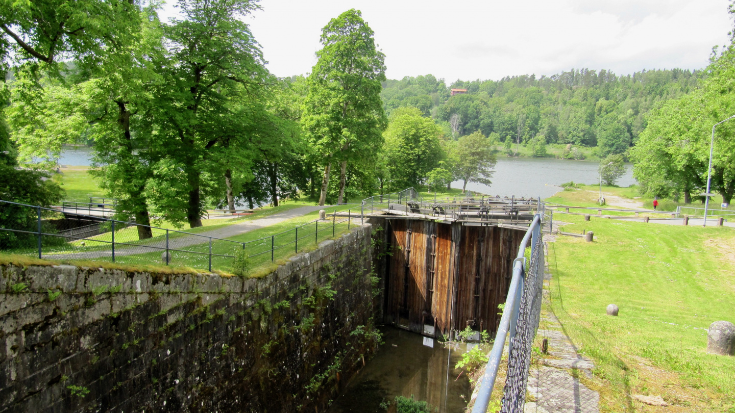 Old lock of Trollhätte