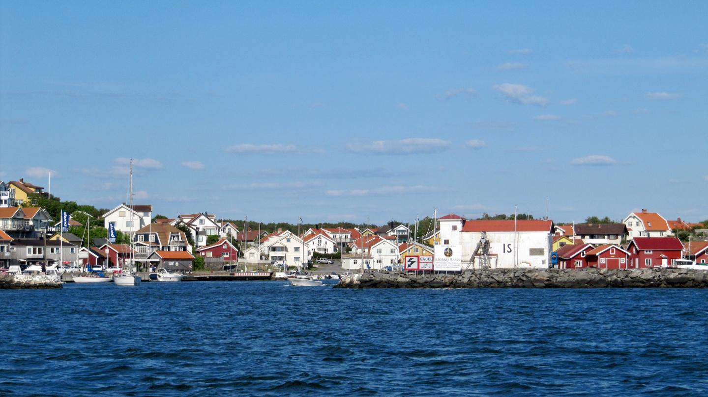 Näkymä Göteborgin saaristosta