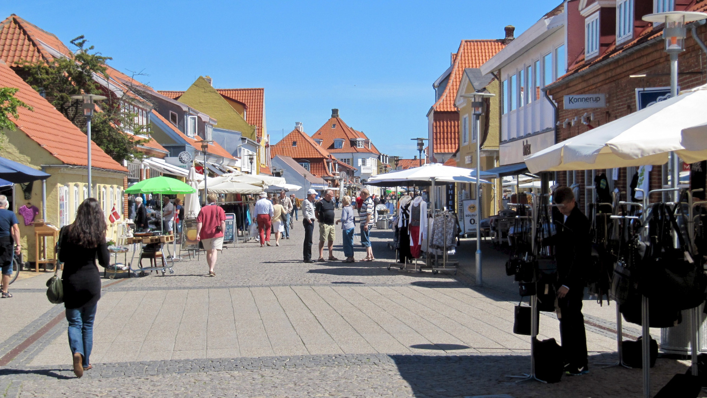 Walking street of Skagen