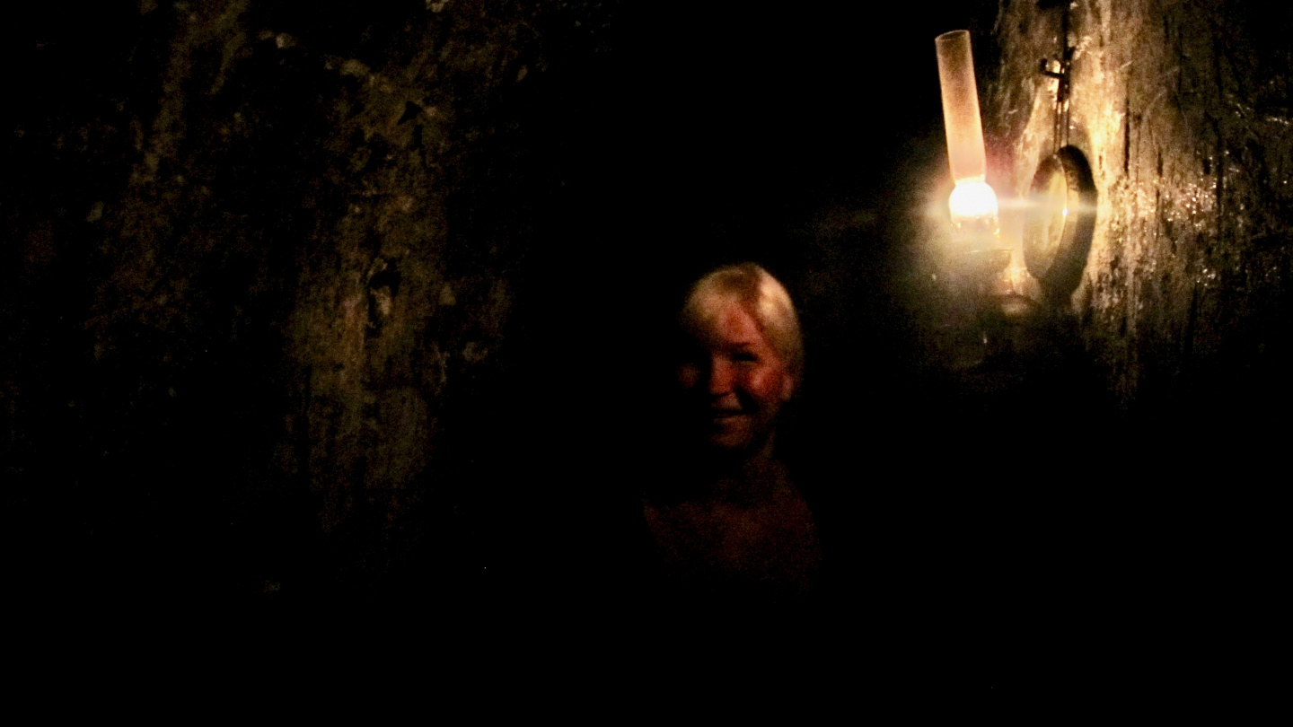 Eve in the dungeon of Kronborg castle