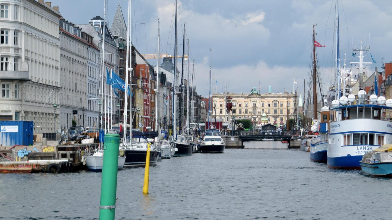 Vierasvenepaikat Nyhavn satamassa Kööpenhaminassa