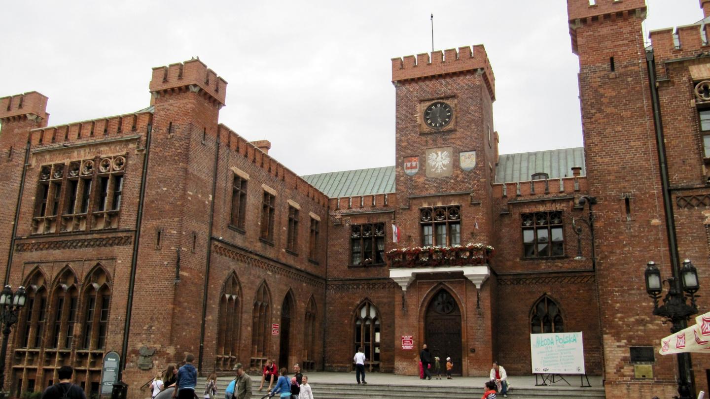 Town hall of Kołobrzeg in Poland
