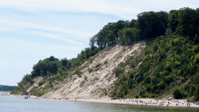 Sand beach of Sellin