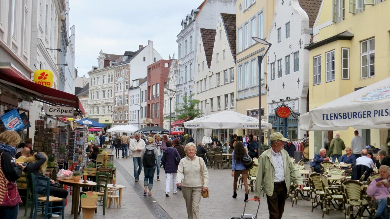 Flensburgin kävelykatu