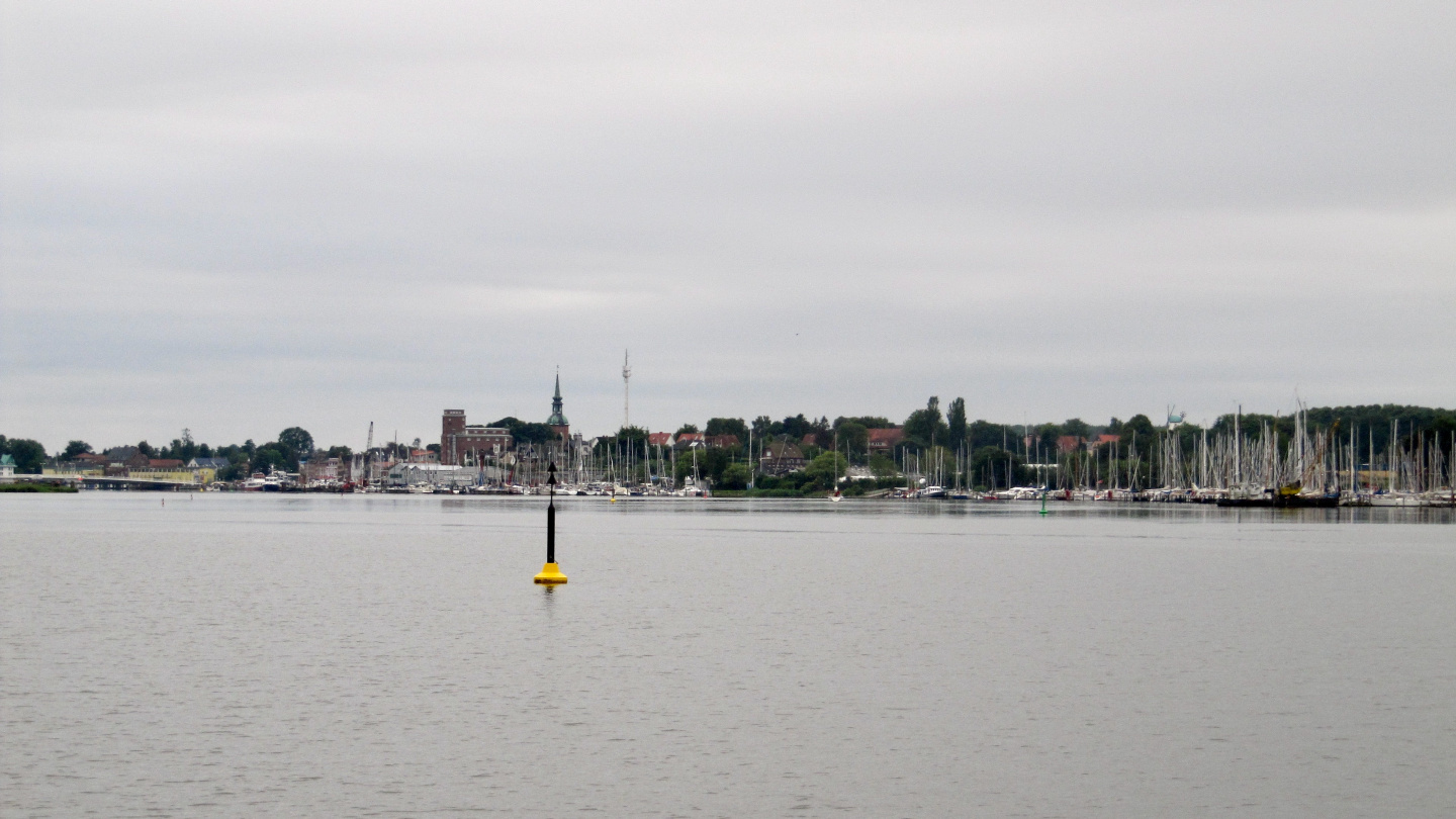 View of Kappeln from Schlei