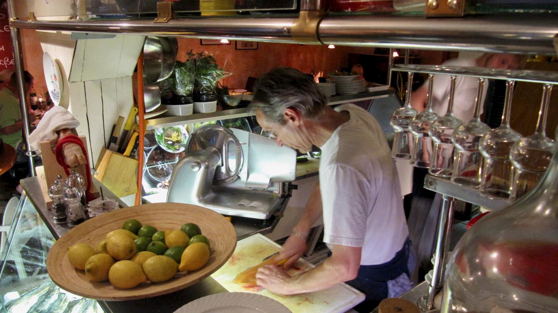 Kitchen of the restaurant Stark in Kappeln