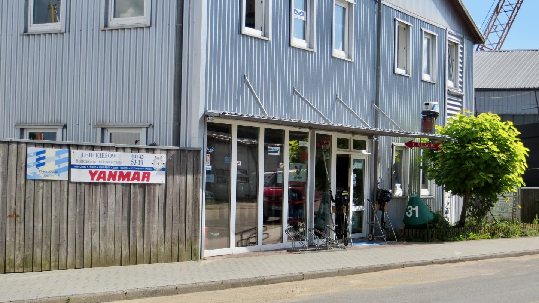 Diesel engine company Kiesow GmbH in Kappeln