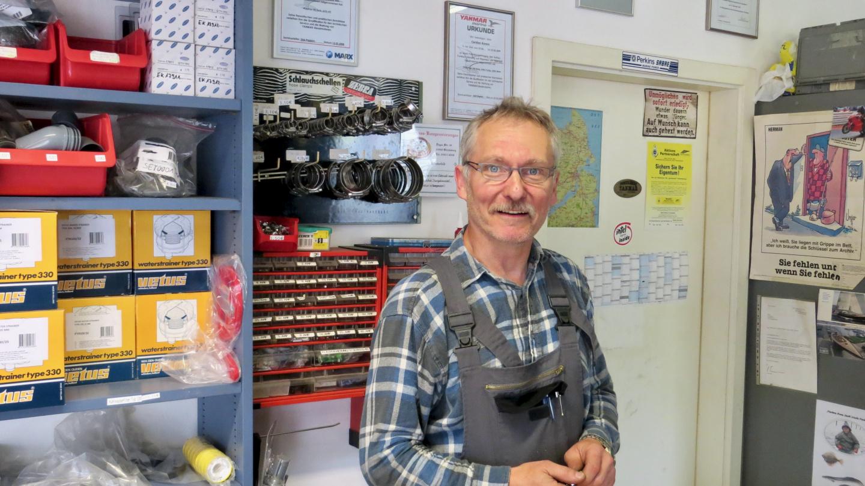 Mr Schmidt from Kiesow GmbH in Kappeln
