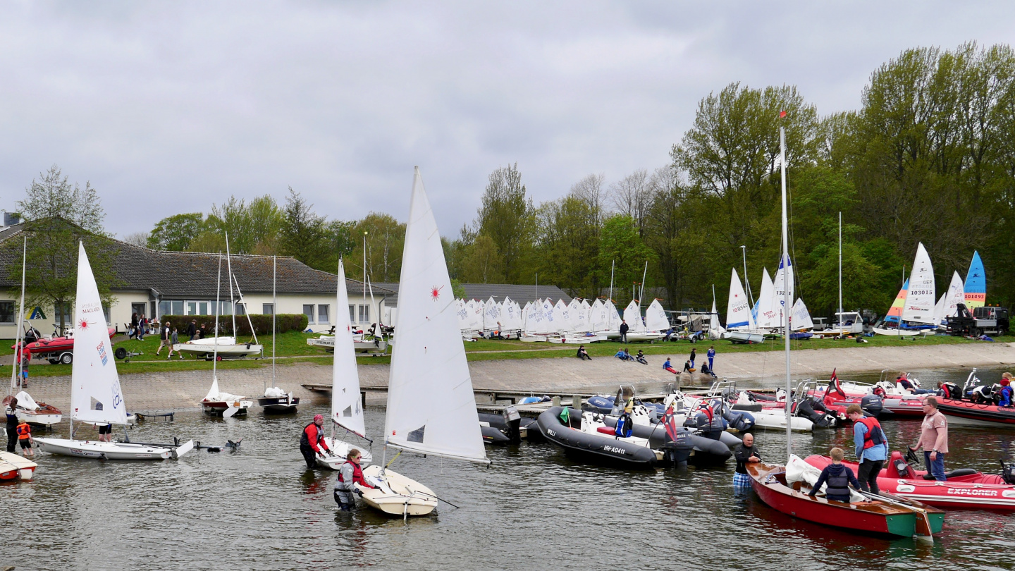 Sailing camp in Borgwedel