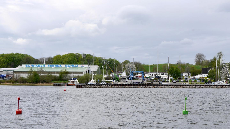 Schrader Marina in Borgwedel of Germany